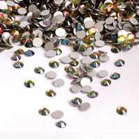 Стразы клеевые SS34 7,3-7,5 мм стекло цветные