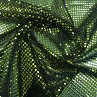 Ткань Пайетки на сетке 100% п/э шир.110 см