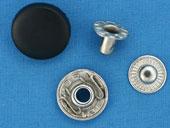 """Кнопки 12,5 мм с пластиковым верхом """"альфа"""" 720 шт"""