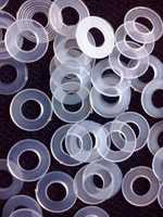 Кольца пластмассовые 8 мм №5
