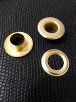 Люверсы 10 мм цв.золото