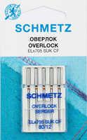 Иглы для оверлоков и распошивальных №80 Schmetz ELx705 SUK CF