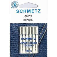 Иглы джинс №100 Schmetz 130/705H 5 шт